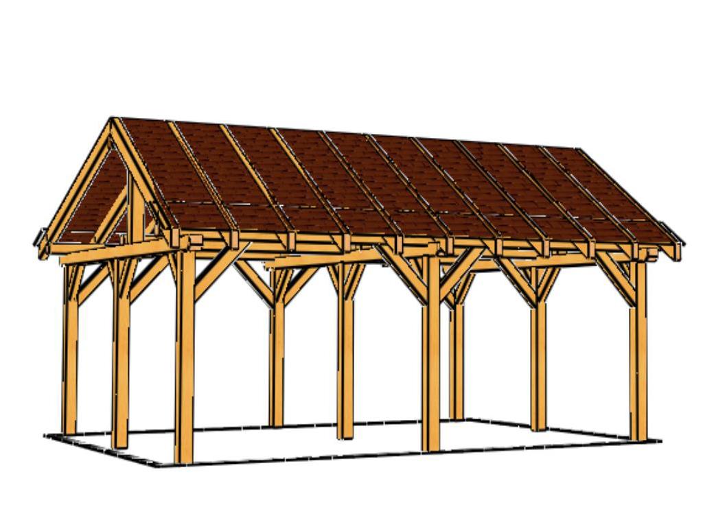 abri voiture carport bois abri en bois toute la r glementation. Black Bedroom Furniture Sets. Home Design Ideas